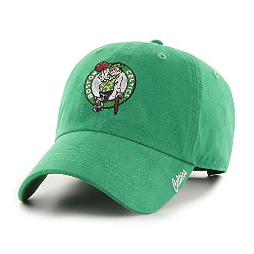 OTS NBA Boston Celtics Women's Team Color Sparkle Challenger Adjustable Hat, Team Color, Women's