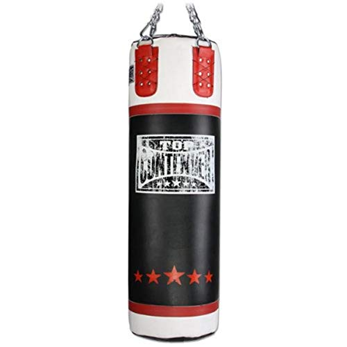 Contender Fight Sports Leather Boxing Punching Heavy Bag (Filled), 100-Pound