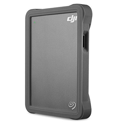 Seagate STGH2000400 DJI Fly Drive 2 TB Externe tragbare Festplatte (6,4 cm (2,5 Zoll) mit integriertem Cardreader)