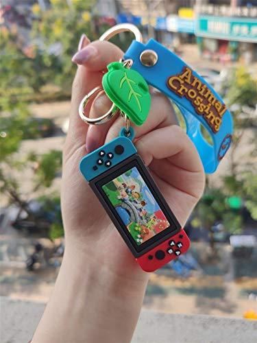 yywl 3D Table Lamps 2021 DIY New Game Machine Keychains Animal Crossing Key Chain Fashion Cute...