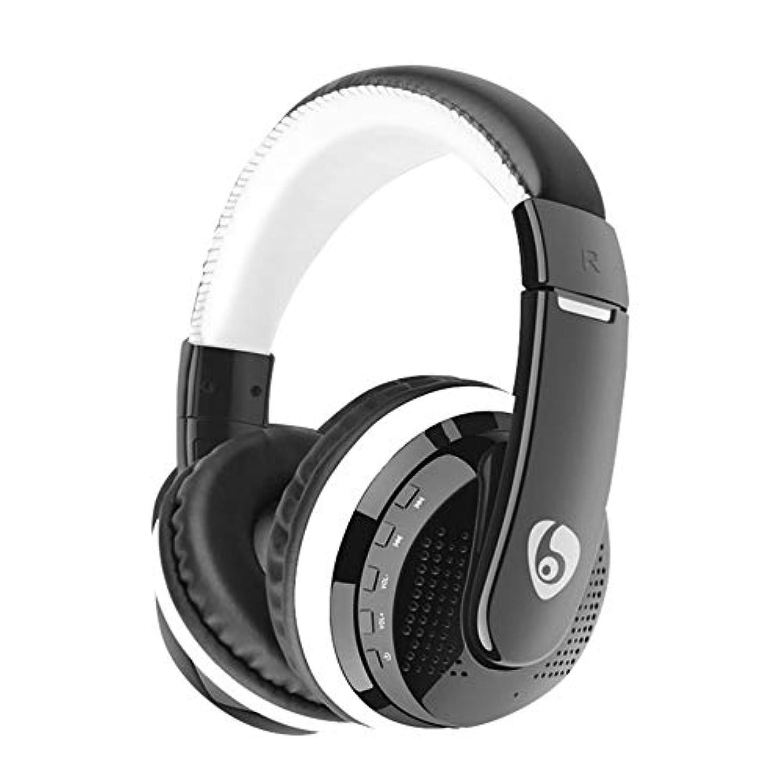 決済聴衆ソフトウェアLuani Over Ear HiFi BassステレオヘッドフォンヘッドセットNirkabel FM Radio Kartu TF MP3 Playback Handsfree Dengan Mikrofon