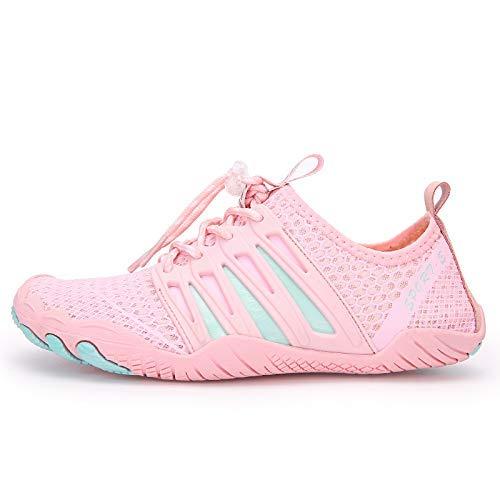 Zapatos de agua descalzos de secado rápido, Aqua Yoga al aire libre, playa, surf, natación, zapatos acuáticos para mujeres y hombres