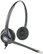Plantronics HW261N Quick Disconnect Binaural Headset (Certified Refurbished)