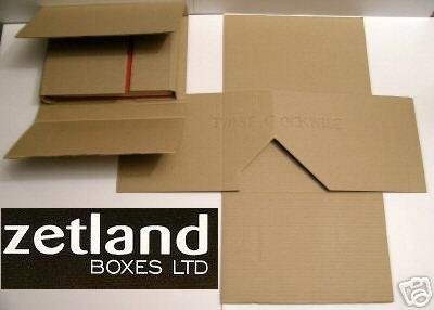 50 X Zetland Boxen 1B, Medium, &DVD CD Mailer Protected Versand Karton Verpackung