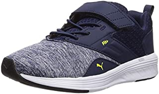 PUMA Unisex-Kids' Nrgy Comet Velcro Sneaker