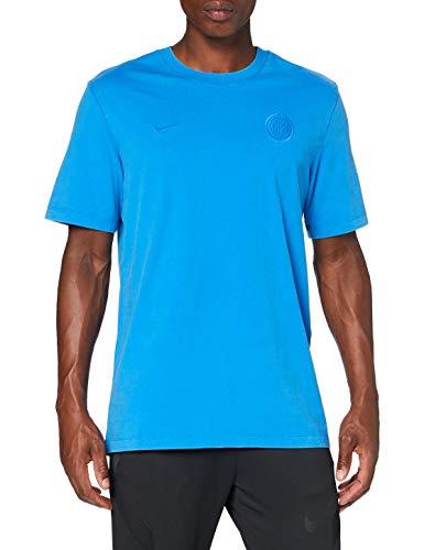 Nike Inter Milan, T-Shirt Uomo, Blue Spark, S
