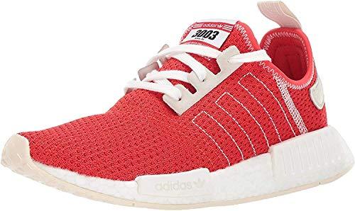 adidas Originals Herren NMD_R1, Aktive Rot/Aktiv Rot/Ecru Tönung, 45 EU