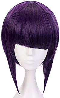 Yamia Anime Cosplay Wig for My Hero Academia Jirou Kyouka Synthetic Wigs with free Cap