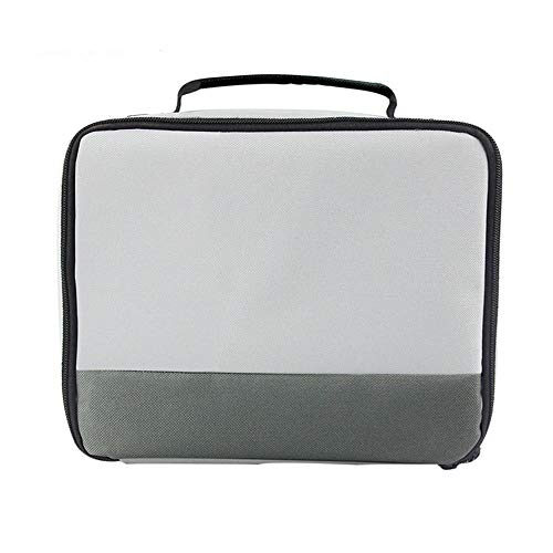 Portable Projector Bag Projector Carrying Case Small Size Electronics Product Organizer Waterproof Multimedia Storage Case(Fits Most Major Mini...