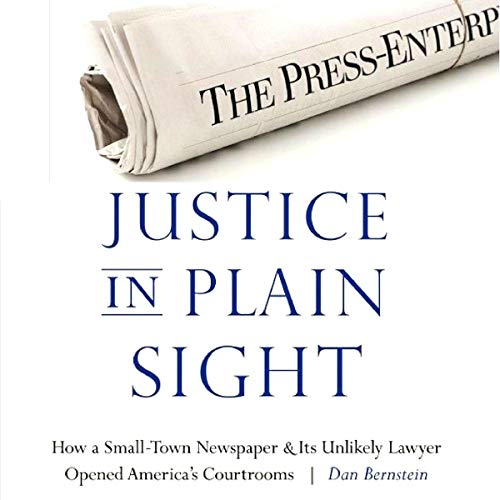 Justice in Plain Sight audiobook cover art