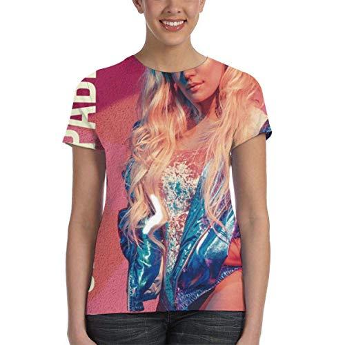 shenqiwww Camiseta clásica Karol G Unstoppable Mujer 3D Print
