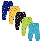 Kuchipoo Unisex Kids Pajama Set (Pack of 5, 12-18 Months)
