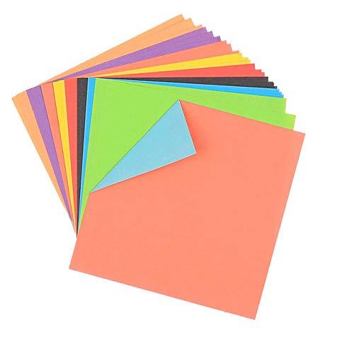 Sammelalbum Handwerk doppelseitige Farbe Quadrat Falten Kinder handgefertigten Origami Papier Papierschneidematerialien - 1 Packung, 1