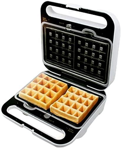 KISAD Máquina de Desayuno Multifuncional 3-IN-1 Sandwich Tostadora Waffle Maker Placas Desmontables Sin paletas LED Indicador Luces Cool Touch Manija Lavavajillas Caja Fuerte (Color : Default)