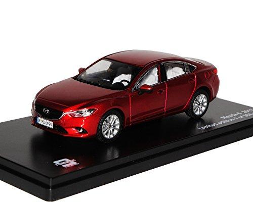 Ixo Mazda 6 Limousine Rot 3. Generation Typ GJ Ab 2012 limitiert 1 von 504 Triple 9 1/43 PremiumX Modell Auto mit individiuellem Wunschkennzeichen