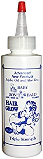Baby Don't Be Bald Triple Strength Hair Grow with Jojoba and Aloe