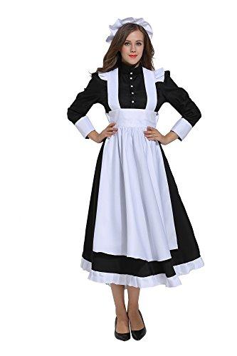 dream cosplay Disfraz de Victoriana para Mujer (X-Large)