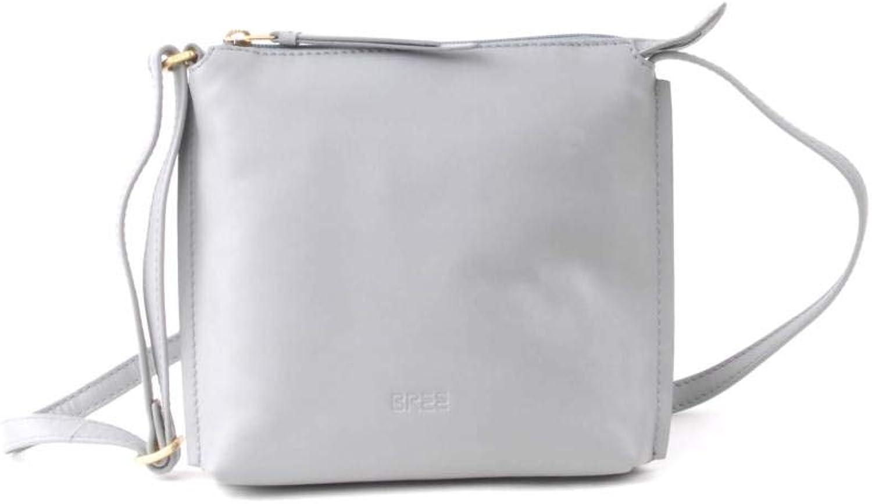 BREE Collection Toulouse 1, Belgian Block, Cr. Sh. S S19, Women's CrossBody Bag, Green (Belgian Block), 4x20x19 cm (B x H T)