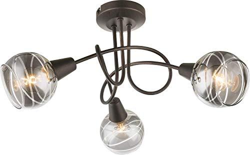 Globo Isla - Lámpara de techo (metal), color bronce