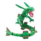 Latim PokemonCenter XY Rayquaza Dragon Plush Soft Toy Stuffed Anime Collectible Dolls 31'