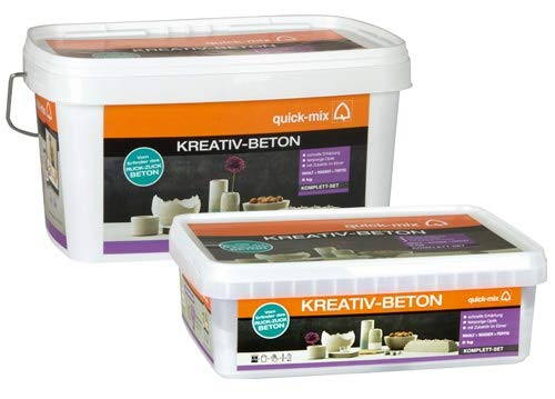 Quick-Mix Kreativ-Beton 6 kg