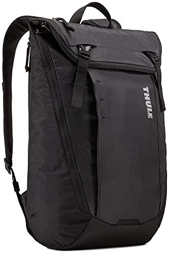 Thule Enroute Backpack Zaino, Black, 20L Unisex-Adult, Nero, 20 Litri