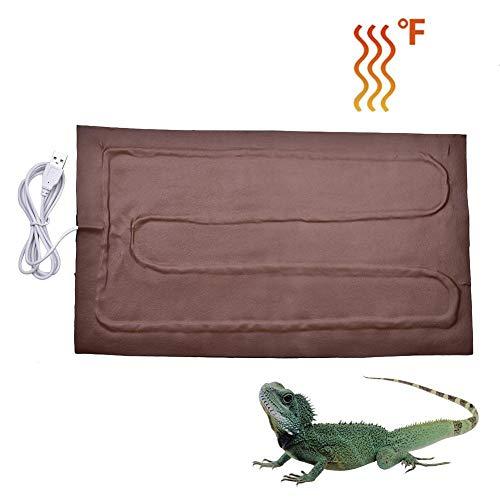 JIUYUE verwarmingskussen Reptile verwarmingskussen tijdschakelaar temperatuurregeling Pet Warm film kussen PU verwarming Cloth verwarmingsmat
