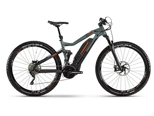 Haibike Sduro FullNine 8.0 29'' Pedelec E-Bike MTB schwarz/grün/orange 2019*