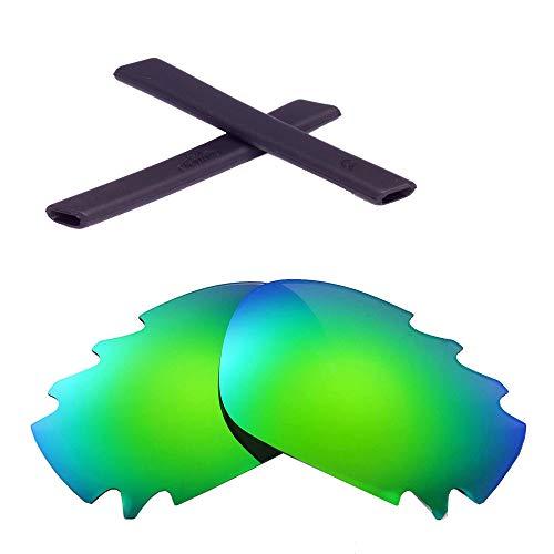 Walleva Vented Lenses And Rubber Kit(Earsocks) For Oakley Jawbone - 11...