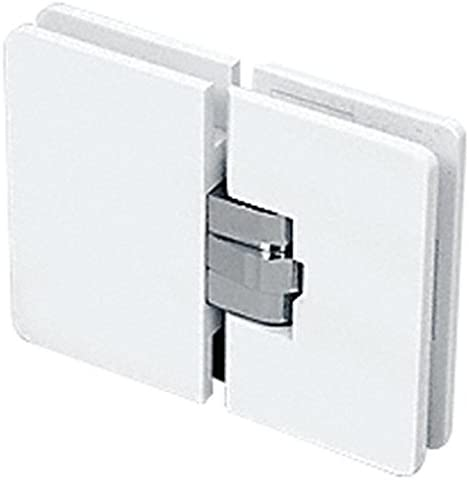 CRL Milano High quality OFFicial mail order 180 Series White with Gla Chrome Block Center 180176;