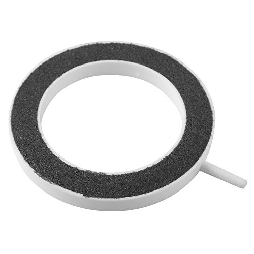 FTVOGUE Air Stone Ronde Ring Plaat Luchtbel Zuurstof Pomp Hydroponische Vis Tanks Aquarium Decor, 100*H12mm