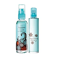 Avon Tahitian Holiday Eau De Toilette Spray 50ml with Tahitian Holiday Exotic Body Mist