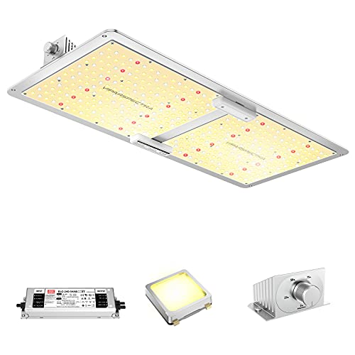 LED Grow Light, VIPARSPECTRA VS2000 LED Grow Light with Samsung LM301B Diodes & MeanWell Driver, 4x2ft Coverage Dimmable Full Spectrum Plant Grow Light for Indoor Plants Seeding Veg and Bloom