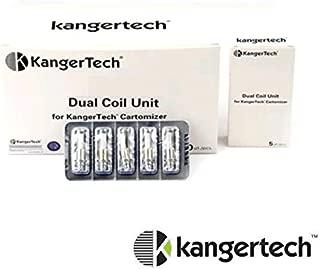 NEW KangerTech アップグレード用交換デュアルコイルユニット 5pcs/pack (1.5ohm)