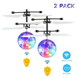 Fansteck 2 Pack Bola voladora, Mini Drone para Niños, RC Flying...