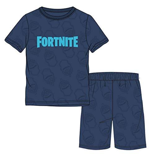 Global Brands Shorty Pyjama blau (152)