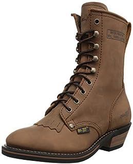 "AdTec Women's 8"" Packer Brown Work Boot"