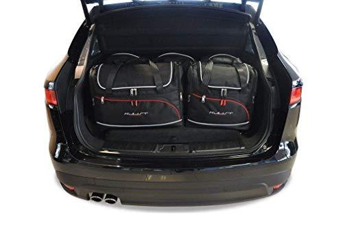 KJUST Dedizierte Kofferraumtaschen 5 STK kompatibel mit Jaguar F-PACE I 2015 -