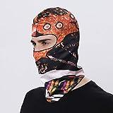 Sturmhaube Motorrad Herren Damen Sturmhaube Fahrrad Multifunktionstuch Schal Waschbar Winddicht Kopfbedeckung Kopftuch Motorrad Gesicht Mundschutz