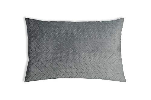 Balance Original Therapiekissen Gesundheitskissen für Erwachsene gegen Schlafprobleme, Grau, Zirbenholz, 40 x 80 cm
