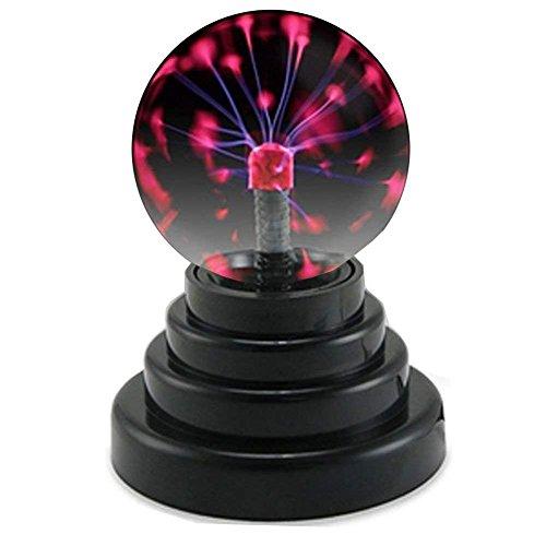 Flyproshop Bola de Plasma, Mini luz mágica de la Bola, Sensor de...