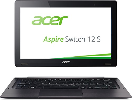 Acer Aspire Switch 12 S (SW7-272) 31,7 cm (12,5 pulgadas Full HD IPS) Convertible (Intel Core m5-6Y54, 8 GB de RAM, 256 GB SSD, Intel HD Graphics 515, Win 10 Home), color negro