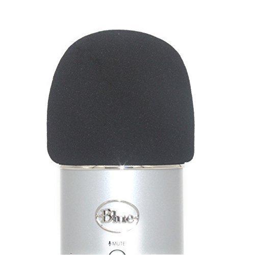 Tramo? Espuma Parabrisas Diseñado para adaptarse a la Yeti Azul, YETI Pro Micrófono de condensador, MXL, micrófonos Audio Technica, y otros grande–2colores