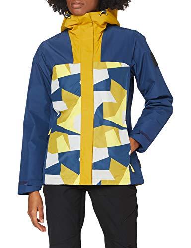Jack Wolfskin 365 Hideaway Jacket, Giacca da Donna Unisex-Adulto, Giallo Vivace, M