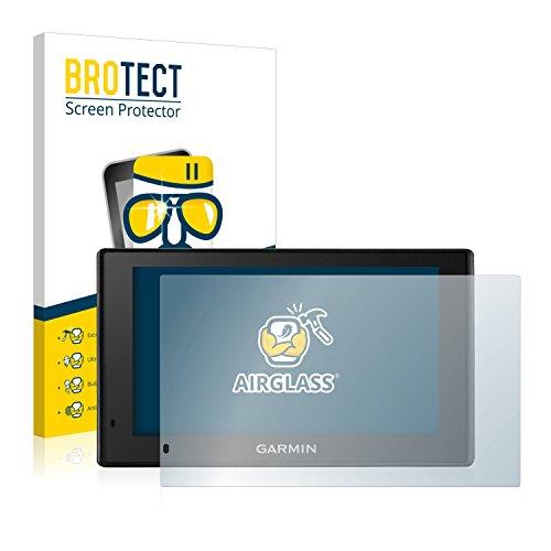 BROTECT Panzerglas Schutzfolie kompatibel mit Garmin DriveSmart 51 LMT-D - AirGlass, extrem Kratzfest, Anti-Fingerprint, Ultra-transparent