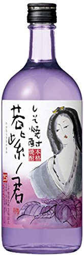 [ 700ml ] SHISO SHOCHU WAKAMURASAKI NO KIMI japanische Spirituose alc. 25% vol.