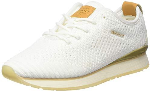 GANT Footwear Damen BEVINDA Sneaker, Weiß (Off White G20), 38 EU