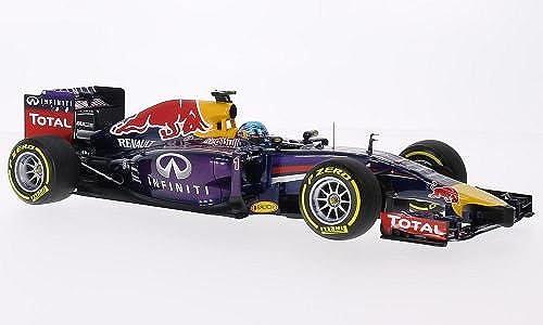 rot Bull Renault RB10, No.1, rot Bull Racing, Infiniti, Formel 1, 2014, Modellauto, Fertigmodell, Minichamps 1 18