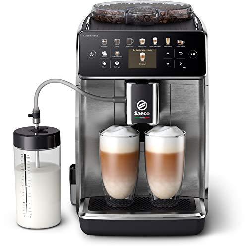 Philips Saeco adecuada Aroma Cafetera espresso totalmente automática SM6585/00, Personaliza fácilmente tu café con los preajustes de sabor