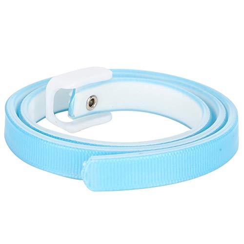DAUERHAFT Haustierhalsbänder für Katzen Einstellbares Blau, um Insekten abzuwehren und Flöhe zu entfernen S, L.(Large)